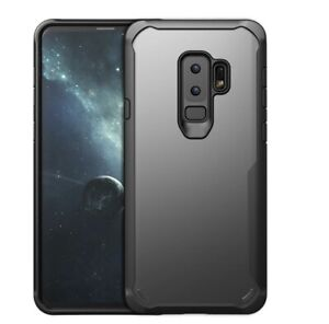 Samsung Galaxy S9 Plus Clear with Black Border Case