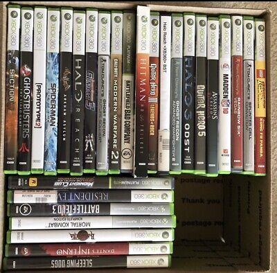 Xbox 360 Games LOT 28 Games!, używany na sprzedaż  Wysyłka do Poland