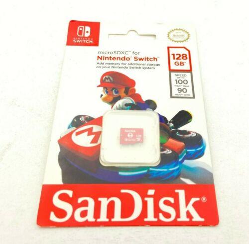 SanDisk 128GB UHS-I microSDXC Memory Card for Nintendo Switch (D23)