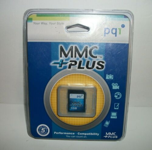 pqi 1GB MMC + MultiMedia Card Memory Card