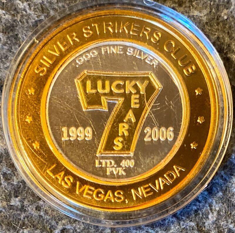 2006 Silver Strikes Club Token