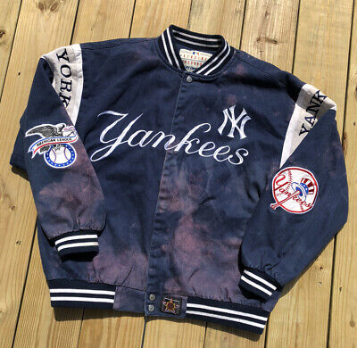Vintage Jeff Hamilton JH Design Genuine Merchandise New York Yankees Jacket XL