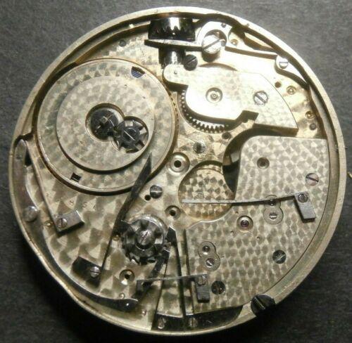 RARE Antique High Grade POITEVIN Pocket Watch Movement Chronometer, Repeater LOT