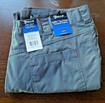 NWT Galls Tac Force Tactical Pants Mens Size 40X32 TDU Gunmetal