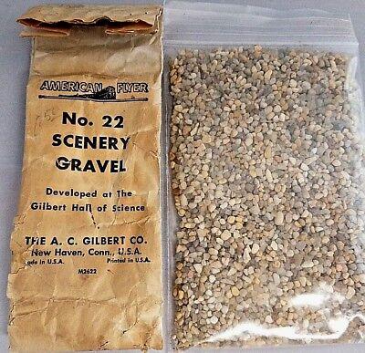 American Flyer No. 22 Scenery Gravel w Original Envelope M2622
