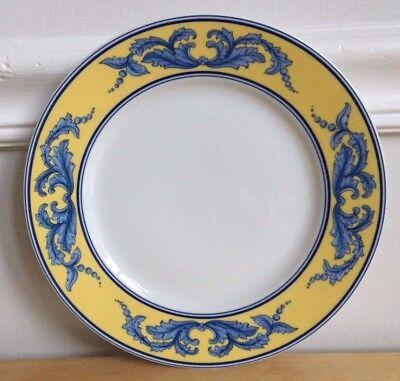 "VISTA ALEGRE SALINA 8.5"" Salad Plate - Blue & Yellow - Portugal - 4 Available"