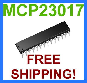 1-x-MCP23017-16-Bit-I-O-Expander-with-I2C-Interface-IC-FREE-SHIPPING