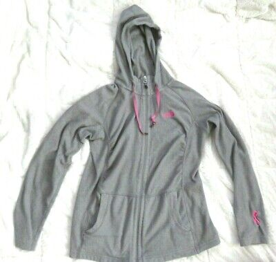 North Face Womens Light - The North Face Gray Light Hooded Jacket Size Womens Small S