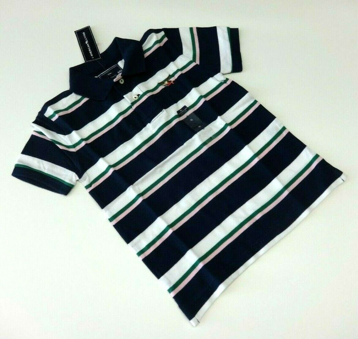 Poloshirt T-Shirt 104/110 gestreift USA size 5 t Junge Polohemd Sommer neu BW