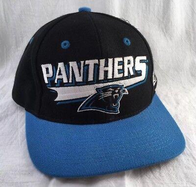 NFL Carolina Panthers Men's Ball Cap Hat Blue Black Licensed NFL Product](Carolina Panthers Merchandise)