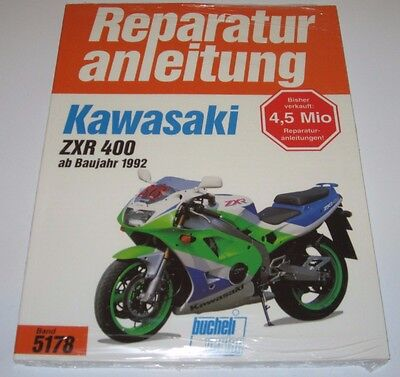 Kawasaki Zxr 400 Prospekt 199? Anleitungen & Handbücher 193653 Auto & Motorrad: Teile