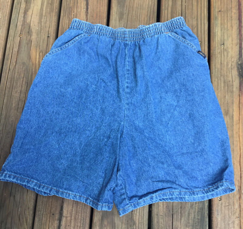 vtg shorts Chic Mom Elastic Waist high rise waist  80