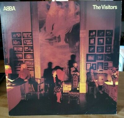 ABBA The Visitors Atlantic ‎SD 19332 VINYL NM Lp