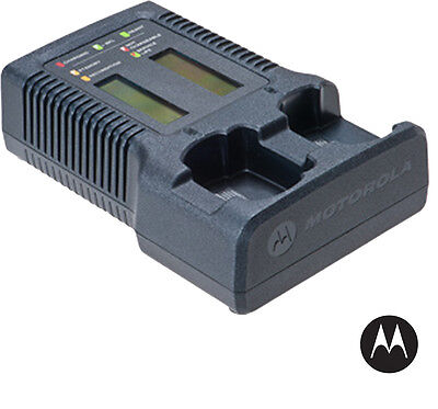 Motorola - Nntn7593 - Impres Dual Unit Charger With Display Apx 600070008000