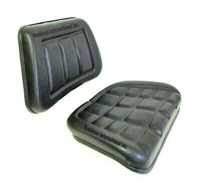 Mahindra Tractor Seat Cushion Back Bottom 2 Pieces