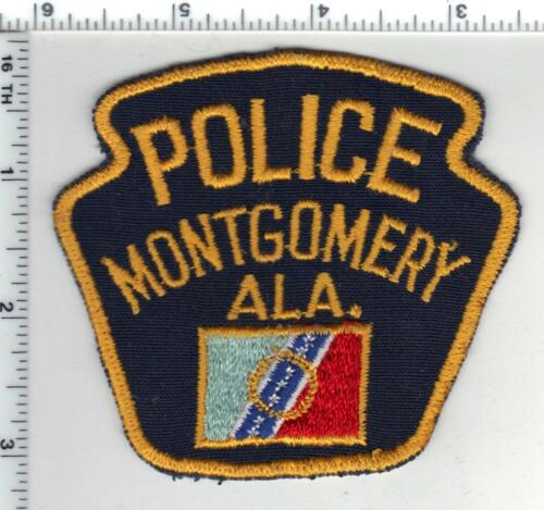 Montgomery Police (Alabama) Shoulder Patch from the late 1970