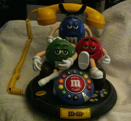 M&M Talking Telephone Never Used