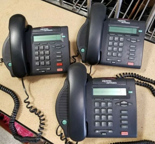 Lof of (5) Nortel Networks M3902 Business Telephones (used) with Free Shipping