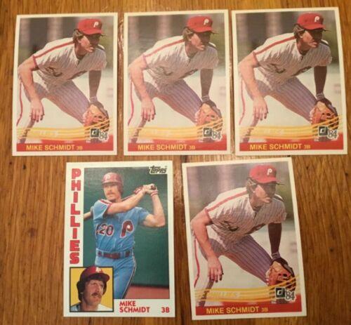 Donruss  Baseball Card # 61 1986  MIKE SCHMIDT PHILADELPHIA  PHILLIES
