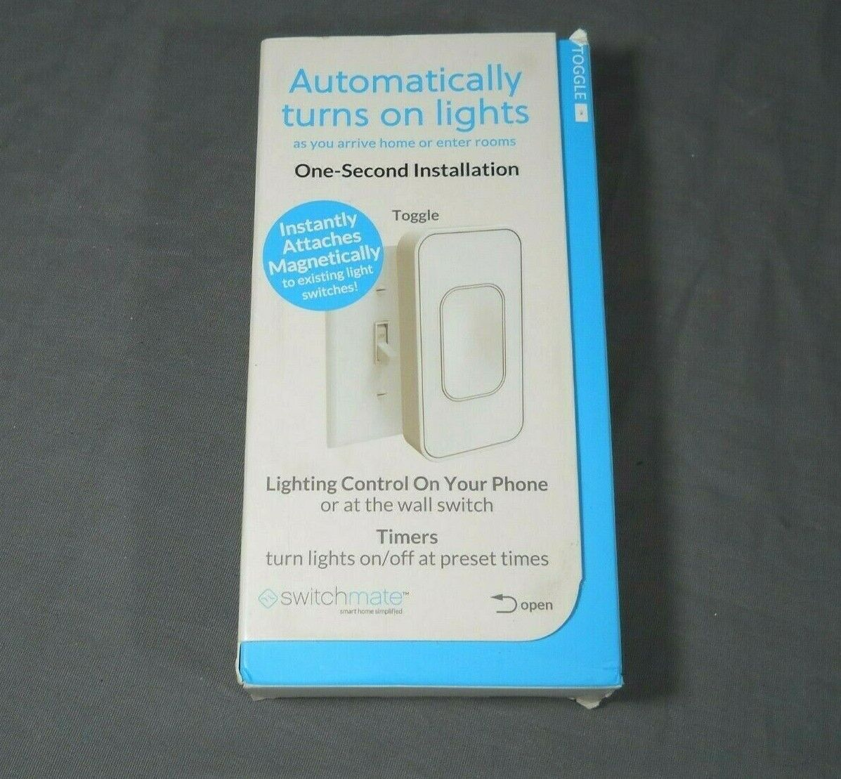 Switchmate TSM001W One Second Installation Smart Lighting Toggle  White