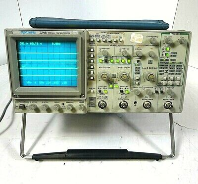 Tektronix 2246 100mhz Oscilloscope 4 Channels - Free Shipping.