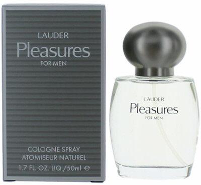 PLEASURES by Estee Lauder cologne for men EDC 1.6 / 1.7 oz New in Box