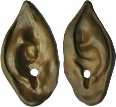 Morris Costumes Realism Werewolf Brown High Quality Latex Ears. FA30BN