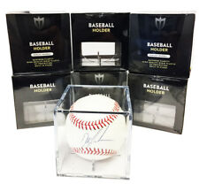 72 Max Pro Baseball Display Case Cubes 98% Archival UV Protection and Cradle