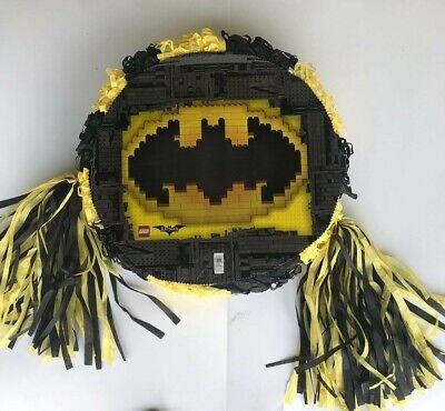 Batman Emblem Lego  Pinata..Party Game ,Party Decoration FREE - Batman Pinata