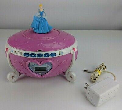 Disney Cinderella Princess Jewelry Box Collectible CD Boombox RARE ()