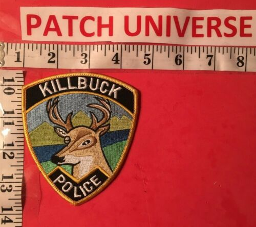 KILLBUCK OHIO  POLICE  SHOULDER PATCH  R060