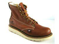 "FACT2ND USA 814-4201 Thorogood 8/"" American Heritage Soft Toe MOC Work Boots"