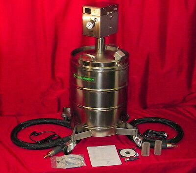 New Ta Inst. Cryofab Cfl-50 Liquid Nitrogen Dewar Tank Pressure Vessel Semen
