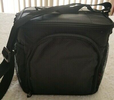 Pwrxtreme Insulated Lunch Bag with Best 2 Way Zipper Closures Double-sewn