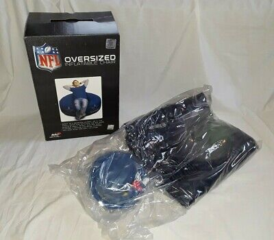 DALLAS COWBOYS OVERSIZED INFLATABLE CHAIR W/ PUMP, NFL. BRAND NEW IN BOX.](Dallas Cowboys Inflatable)