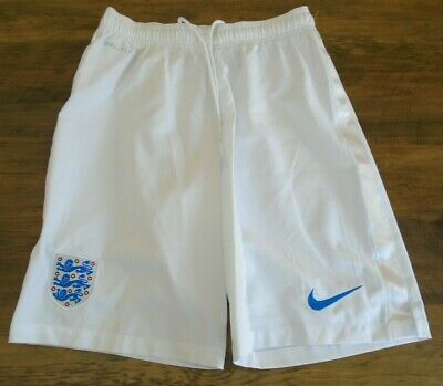 ENGLAND 2014-2015 HOME NIKE FOOTBALL SOCCER SHORTS SMALL ADULT