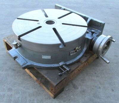 Nice Yuasa 20 Horizontal Vertical Rotary Table - 550-056