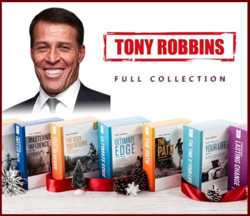 Tony Robbins - FULL COLLECTION - (+32 Great Courses !) + Bonuses 🔥.