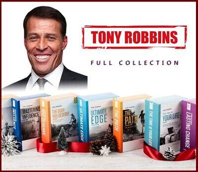 Tony Robbins - FULL COLLECTION - (+32 Great Courses !) + 🔥 FREE Bonuses 🔥.