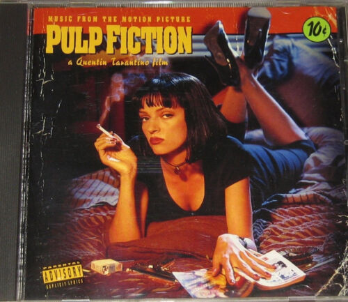 Pulp Fiction Motion Picture Soundtrack Audio Cd Release With Booklet