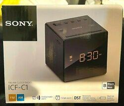 Sony ICF-C1 Alarm Clock FM/AM Radio Time