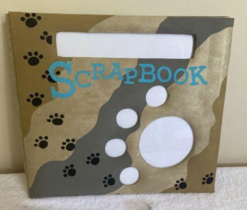 New Paw Print 12 x 12 Scrapbook Album For your Pet Dog