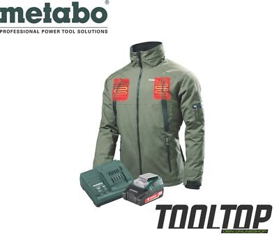 Metabo Akku Heizjacke Gr. XXL / Winterjacke + PowerAdapter PA 14.4-18 LED-USB