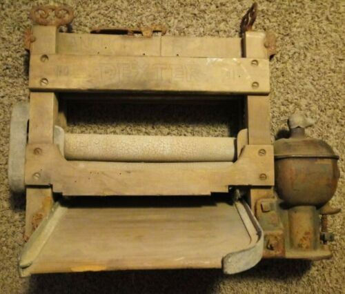 Vintage Anchor Brand Clothes Dryer - Dexter No. Z41W Handle Broken