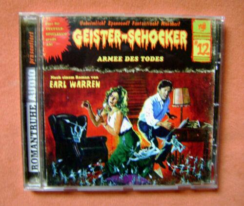 CD: Geister-Schocker (Folge 12) - Armee des Todes (Earl Warren)   TOP!!!