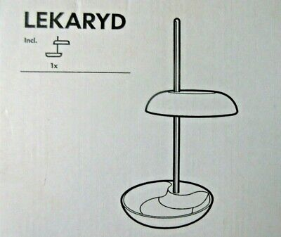 NEW IKEA LEKARYD LED WHITE TABLE - LAMP HEIGHT IS ADJUSTABLE