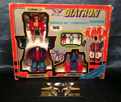 Vintage Robot Die-Cast serie DIACLONE DIATRON Originale TAKARA importato da GIG.