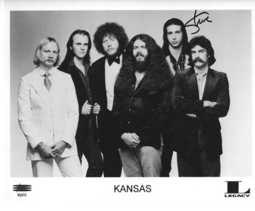 * STEVE WALSH * signed 8x10 photo * KANSAS ROCK BAND * COA * 3