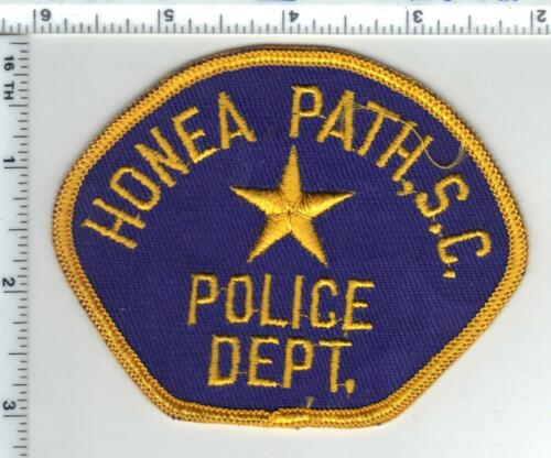 Honea Path Police (South Carolina) Shoulder Patch from the 1980