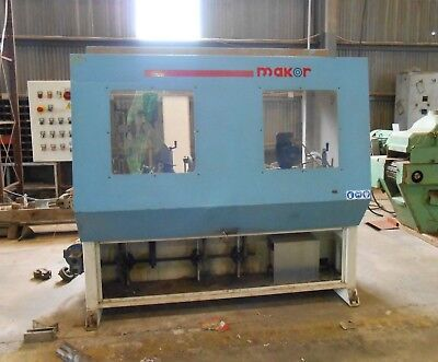 Makor Serial 6725 Multi Head Sander Moulder